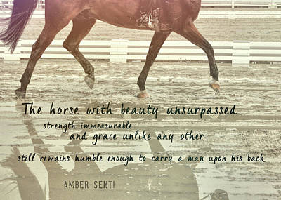 Photograph - Impulsion Mirrored Quote by JAMART Photography