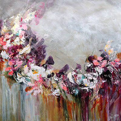 Painting - In a Flurry of Wonder by Nikol Wikman