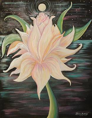 Painting - In Bloom by Lisa Bunsey