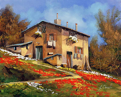 Royalty-Free and Rights-Managed Images - In Casa by Guido Borelli