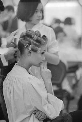 Photograph - In Curlers by Ronald Dumont