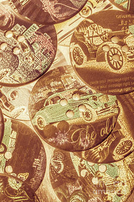 In Fashion Of Classic Cars Art Print