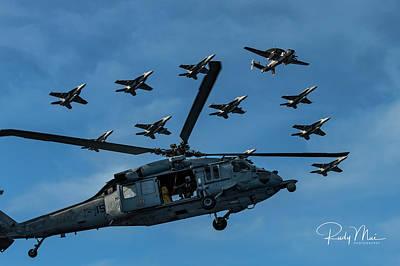 Photograph - In Formation by Rudy Mui