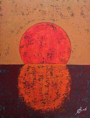 Painting - In Light Of Infinite Possibilities Original Painting by Sol Luckman