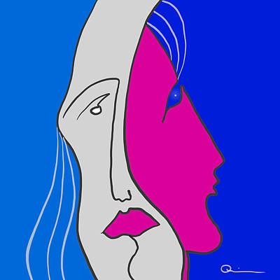 Digital Art - In Mind 2 by Jeff Quiros