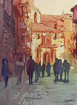 Painting - In Salamanca by Jenny Armitage