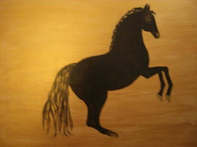 Painting - In Silhouette by Michela Akers
