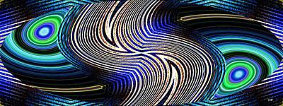 Digital Art - In Sync 15 by Will Borden