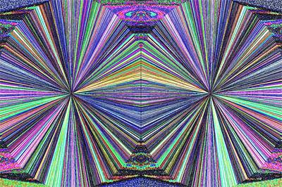 Digital Art - In Sync 2 by Will Borden