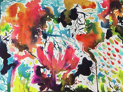 Painting - In the Field by Monika Arturi