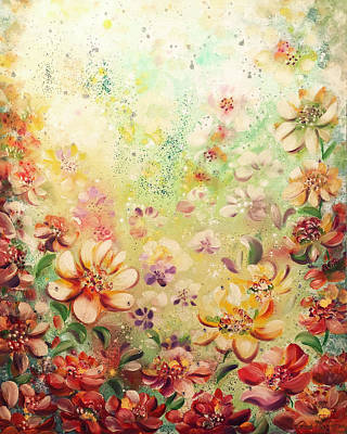 Painting - In The Garden by Gina De Gorna