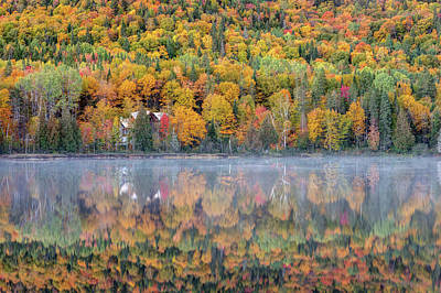 Art Print featuring the photograph In The Heart Of Autumn by Pierre Leclerc Photography