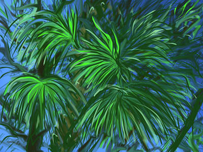 Painting - In The Jungle by Jean Pacheco Ravinski