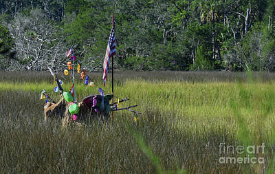 Photograph - In The Marsh To Edisto by Skip Willits