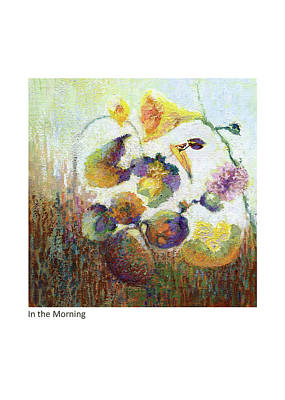 Painting - In The Morning by Betsy Derrick