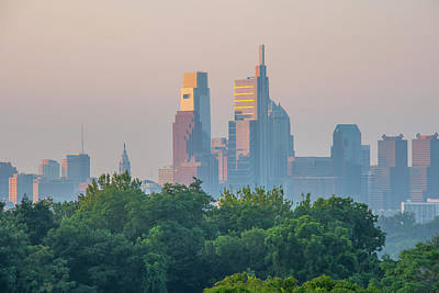 Photograph - In The Morning Light - Philadelphia by Bill Cannon
