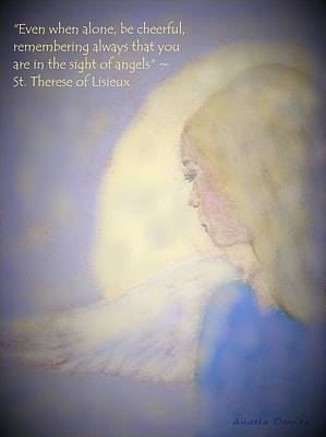 Digital Art - In The Sight Of Angels by Angela Davies