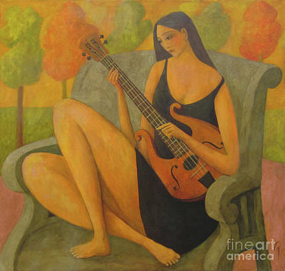 Painting - Incidental Music by Glenn Quist