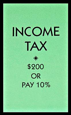 Photograph - Income Tax by Rob Hans