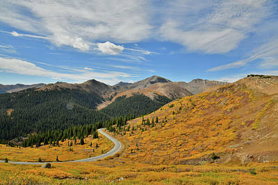 Photograph - Independence Pass In Fall by Ray Mathis