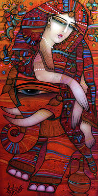 Wall Art - Painting - Indian Dreams by Albena Vatcheva