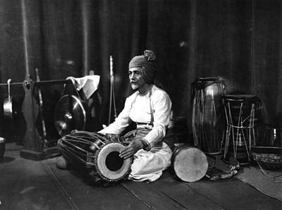 Photograph - Indian Drummer by Sasha