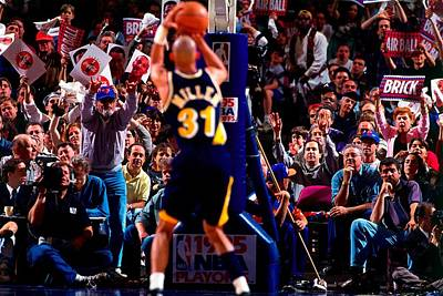 Photograph - Indiana Pacers V New York Knicks, Game 1 by Noren Trotman
