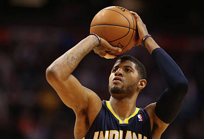Photograph - Indiana Pacers V Phoenix Suns by Christian Petersen