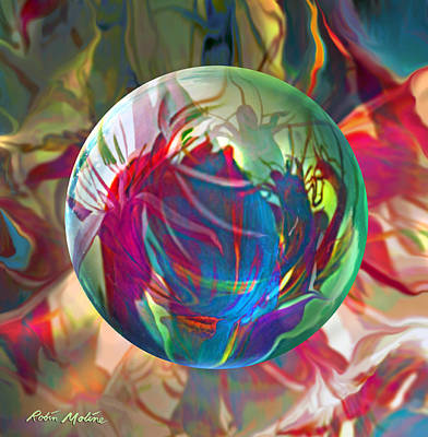 Tropical Flowers Painting - Indigofera Tinctorbia by Robin Moline