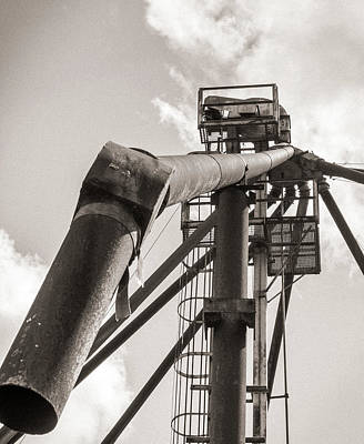 Photograph - Industrial Dragon by Randy Bayne