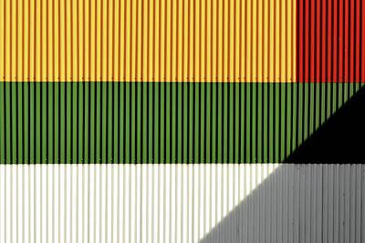 Photograph - Industrial Flag by Stuart Allen
