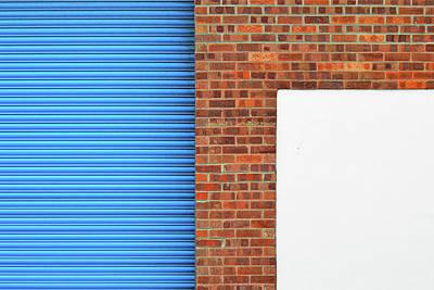 Photograph - Industrial Minimalism 14 by Stuart Allen