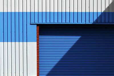 Photograph - Industrial Minimalism 15 by Stuart Allen