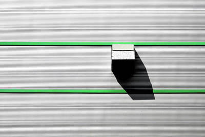 Photograph - Industrial Minimalism 47 by Stuart Allen