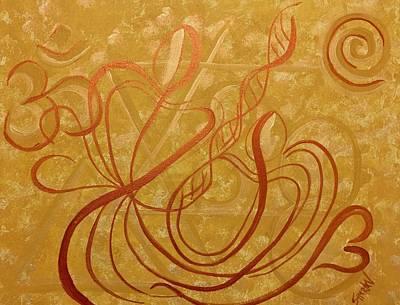 Painting - Infinite Love by Simran Singh