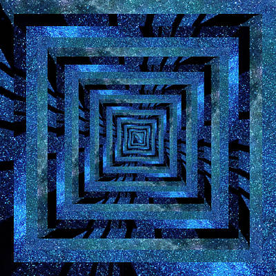 Claude Monet - Infinity Tunnel Milky Way Fence by Pelo Blanco Photo