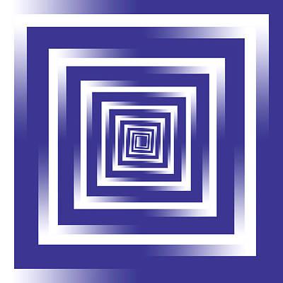 Royalty-Free and Rights-Managed Images - Infinity Tunnel Purple to White by Pelo Blanco Photo