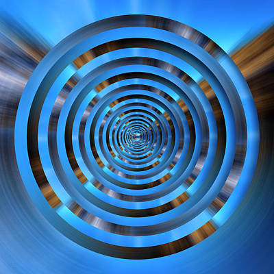 Royalty-Free and Rights-Managed Images - Infinity Tunnel Zooming into the Spin Circles by Pelo Blanco Photo