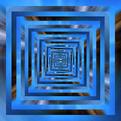 Royalty-Free and Rights-Managed Images - Infinity Tunnel Zooming into the Spin by Pelo Blanco Photo