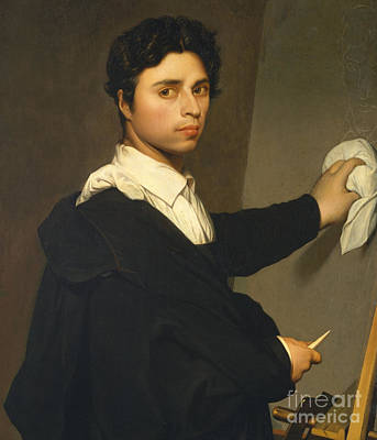 Painting - Ingres As A Young Man by Madame Gustave Hequet