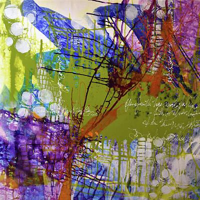 Mixed Media - Inner Faith by Kate Word