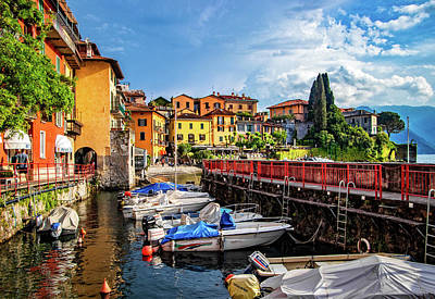 Photograph - Inner Harbor Varenna by Carolyn Derstine