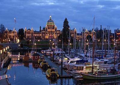 Photograph - Inner Harbour by Keith Boone