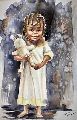 Painting - Inocence by Katerina Kovatcheva