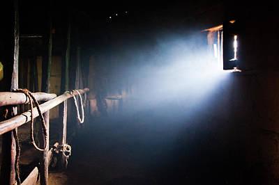 Photograph - Inside A Massai Hut by Daniel Pupius