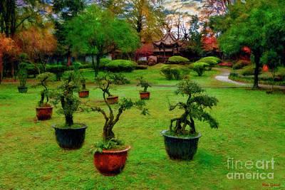 Photograph - Inside Dujiangyan Irrigation System Chengdu  by Blake Richards