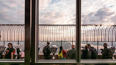 Photograph - Inside Out - Empire State Building by Kaishin Chu