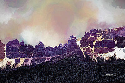 Digital Art - Inside Yellowstone by Mike Braun