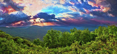 Painting - Inspirational Sunrise Ap by Dan Carmichael