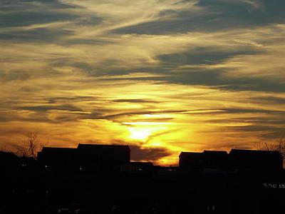 Photograph - Inspirational Sunset by Matthew Seufer